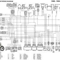 1981 yamaha xt250 wiring diagram - wiring diagram and schematic on honda  mt125 wiring diagram,