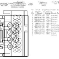 2004 Lincoln Navigator Radio Wiring Diagram