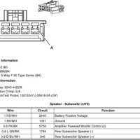 2005 Cadillac Sts Headlight Wiring Diagram
