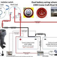 Marine Dual Battery System Wiring Diagram