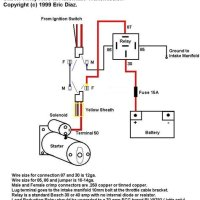 Quick Car Starter Solenoid Wiring Diagram