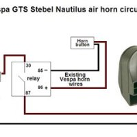 Stebel Nautilus Air Horn Wiring Diagram - Wiring Diagram and