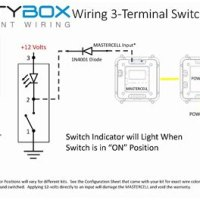 Toggle Switch Light Wiring Diagram